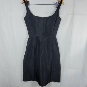 French Connection A Line Black Dress size 6